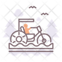 Water Tricycle Water Ride Children Tricycle Icon