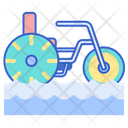 Water Tricycle Icon