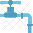 Water Valve Pipe Valve Oil Valve Icon