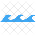 Ocean Wave Sea Icon