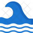 Water Waves Sea Icon