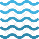 Water Waves Ocean Icon