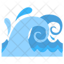 Water Waves Water Storm Ocean Waves Icon