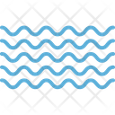 Water Waves Ocean River Icon