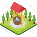 Water Well Water Storage Agriculture Icon