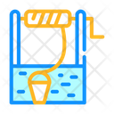 Water Well Color Icon