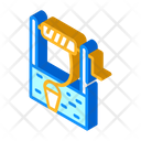 Water Well Isometric Icon
