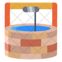 Awater Well Well Brick Icon