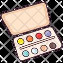 Watercolor Palette Color Palette Art Tool Icon