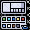 Water Color Color Palette Color Palette Icon