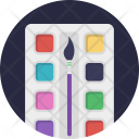 Watercolors Icon