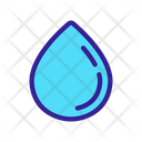 Waterdrop Drop Oil Icon