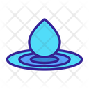 Waterdrop Water Contour Icon