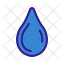 Waterdrop Glass Alcohol Icon