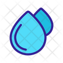 Waterdrop Extraction Water Icon
