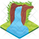 Waterfall Icon