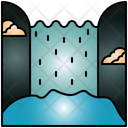 Waterfall Waterfalls Nature Icon