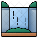 Waterfall Nature Waterfalls Icon