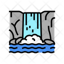 Waterfall Water Source Filter Icon