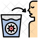 Waterglass Contamination Icon