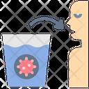 Waterglass Contamination Icon