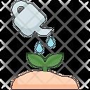 Watering Gardening Plant Icon