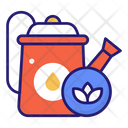 Watering Water Can Gardening Icon