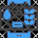 Watering Electric Farming Icon