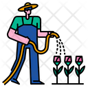 Watering Sping Gardening Icon