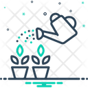 Watering Irrigation Plant Icon
