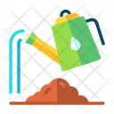 Watering Can Watering Gardening Icon