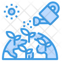 Watering Can Farming Ecology Icon
