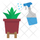 Watering Plant Spary Icon