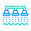 Watering Irrigation System Icon