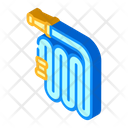 Watering Hose Isometric Icon