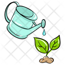 Watering Plant Watering Sprout Plant Care Icon