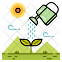 Plant Watering Can Icon