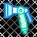 Pistol Spray Watering Icon
