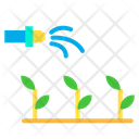 Watering The Plants Watering Plants Gardening Icon