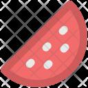 Watermelon Slice Fresh Icon