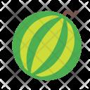 Watermelon Fruit Plant Icon