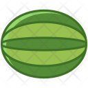 Watermelon Fruit Fit Icon