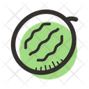 Watermelon Field Fruit Icon