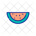 Water Melon Watermelon Healthy Food Icon