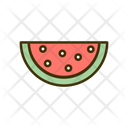 Watermelon Fruit Healthy Food Icon
