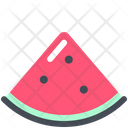 Watermelon Freshness Summer Icon