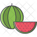 Watermelon Fruit Cooking Icon