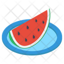 Watermelon Slice Summer Fruit Watermelon Icon