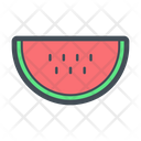 Watermelon Fruit Fruits Icon