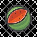 Watermelon Fruit Fruit Game Icon